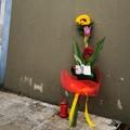 Omicidio poliziotti a Trieste, da Barletta fiori e un biglietto: «La gente vi è vicina»
