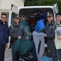 600 felpe contraffatte donate alla Caritas di Barletta