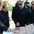 Ugo Patroni Griffi in visita alle strutture portuali di Barletta