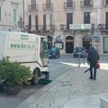 Servizio straordinario di pulizia per il centro storico