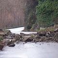 Frane: crolla a Barletta una strada vicino ad una cava