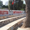Giardini De Nittis, spazio di degrado e vandalismo