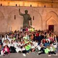 """""""Camminando per le vie di Barletta """": quasi duecento i partecipanti"""