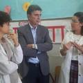 """Il sindaco Cannito incontra gli alunni della scuola  """"G. Modugno """""""