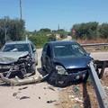 Grave incidente stradale in via Vecchia Canosa a Barletta