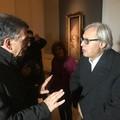 Mostra Boldini a Barletta, ieri la visita di Vittorio Sgarbi