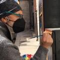 Cabine fibra ottica trasformate in opere d'arte urbana