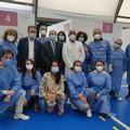 I senatori Damiani e Ronzulli in visita presso gli hub vaccinali di Andria e Barletta