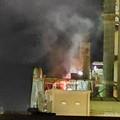 Incendio nella notte a Barletta, il Comitato Aria Pulita: «Siano rese note le cause»