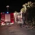Incendio in zona Fiumara, si alza il fumo da vicinale Pantaniello
