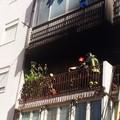 Esplosione in via Manzoni, ingenti danni per un appartamento