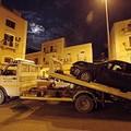 Terribile incidente automobilistico a Barletta in via Roma