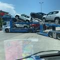 Incidente lungo la strada di Via Trani di Barletta