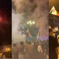 Italia in finale: esplode la gioia a Piazza Moro, c'è anche il sindaco