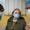 Maria Caldarulo, ha 94 anni la prima vaccinata in una Rsa pugliese