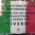 Lockdown di aprile, passa anche da Barletta la protesta di commercianti e partite IVA