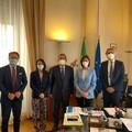 Lo sviluppo della Bat nell'agenda di governo: Lodispoto incontra la ministra Carfagna