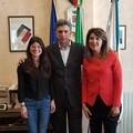 Olimpiadi di italiano, il sindaco di Barletta incontra Mariagrazia Losurdo