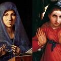 Lorenzo Lotto e Antonello da Messina: la bellezza mistica della Madonna