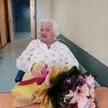 """Operata al femore al  """"Dimiccoli """" di Barletta, torna a casa per i suoi 100 anni"""