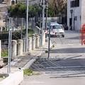 Mura del Carmine, protezioni divelte: pericolo per l'incolumità