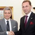 Delegazione kosovara in visita nella provincia BT
