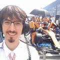 """Successo McLaren al GP d'Italia,  """"bagno """" di gioia per il barlettano Luigi de Martino Norante"""