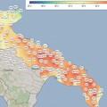 Ondata di calore su tutta la Puglia nella giornata di oggi