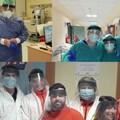 Visiere per l'ospedale di Barletta dall'idea di un gruppo di amici