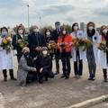 8 marzo: omaggio alle operatrici sanitarie del Dimiccoli di Barletta