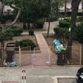 Parco comunale in via Dante Alighieri: una discarica condominiale