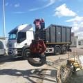 Quasi 1.200 kg di gomme raccolta dalla Capitaneria di Porto di Barletta a Margherita di Savoia