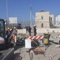 Ricollocazione dei pali di pubblica illuminazione all'ingresso del Porto di Barletta