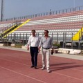 """Sopralluogo allo stadio  """"Puttilli """" di Barletta"""
