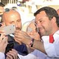 Bagno di folla a Barletta per Matteo Salvini: «In Puglia c'è voglia di Lega»