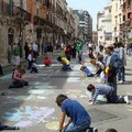 Barletta si colora con l'arte dei Giò Madonnari