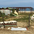 Spiaggia di Barletta abbandonata nel degrado