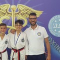 """Taekwondo, due ori e un argento per la  """"Federico II """" di Barletta"""