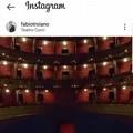 """Fabio Troiano posta il  """"Curci """" di Barletta su Instagram: «Si torni a parlare di teatro»"""