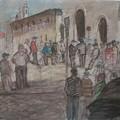 La protesta dei lavoratori Timac diventa forma d'arte