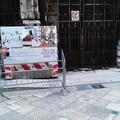 Transenne a Palazzo Bonelli, che beffa