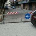 Via Alcide De Gasperi, due settimane off limits