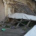 Via Roma dopo il crollo, da monumento a discarica