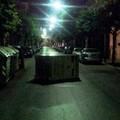 """Campane per la raccolta differenziata a centro strada,  """"Roba da barlettani """""""