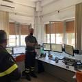 La visita del Prefetto a forze di polizia e vigili del fuoco