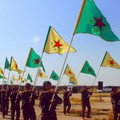 Heval Gelhat Drakon, combattente italiano delle YPG, ospite a Barletta