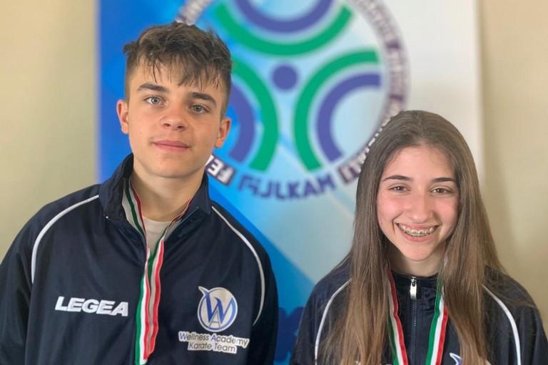 Marco Angiolillo e Giulia Centaro