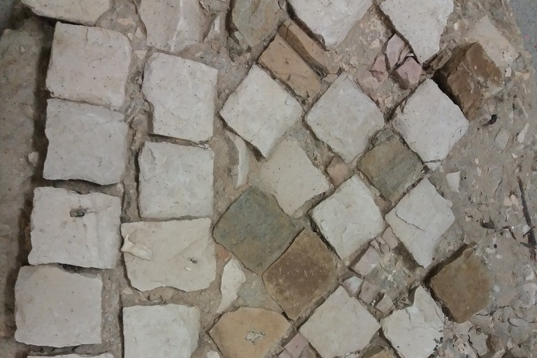 Canne della Battaglia, mosaici della chiesa maggiore