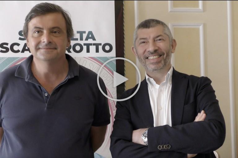 Carlo Calenda e Ivan Scalfarotto