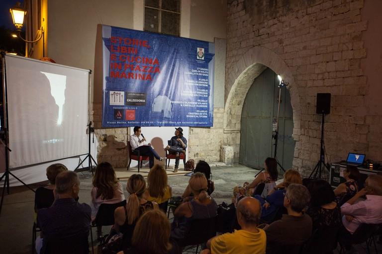 Carlos Solito presenta La Ballata dei Sassi a Barletta giugno copy